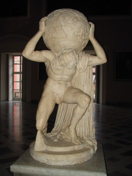 O Atlas Farnese