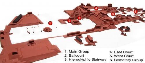 Plan del sitio Copan
