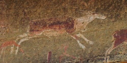 Arte rupestre de San