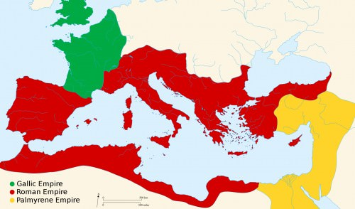 Roman Empire 271 AD