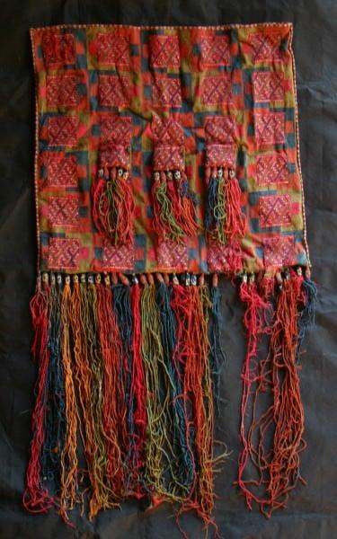 Inca Textile Bag