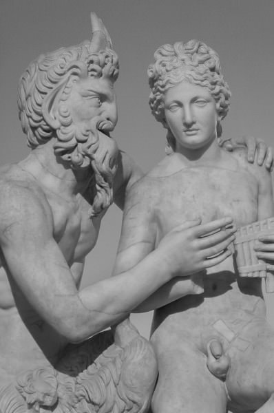 Pan Teaching Daphnis