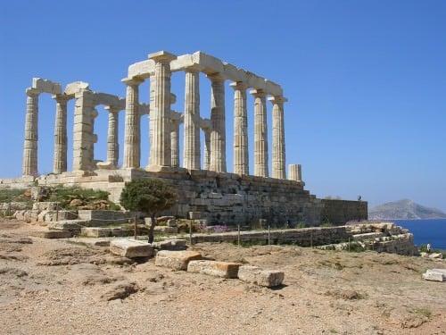 Templo de Poseidón, Sounion, Grecia