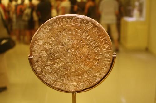 Disco de Phaistos (lado B)