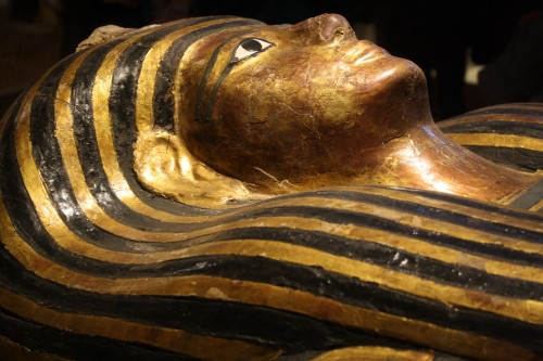 El Sarcófago Medio de Kha (Detalle)