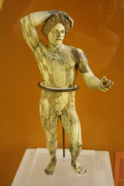 Ivory Statuette of Apollo