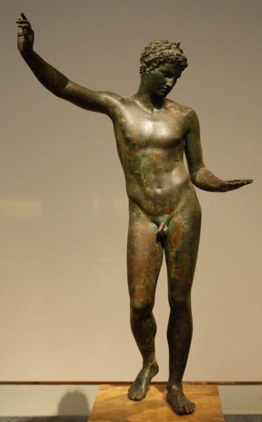 Bronze Greek Athlete