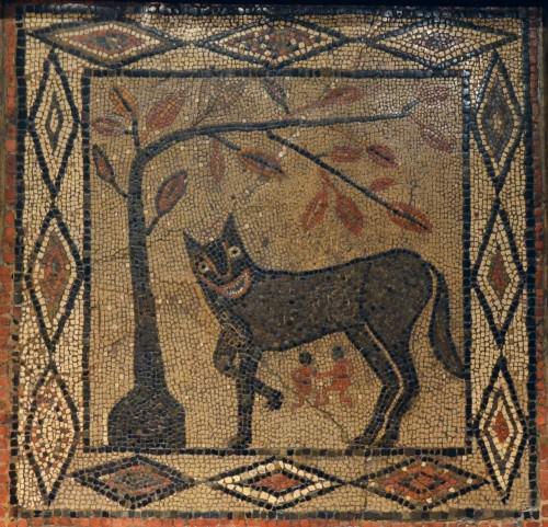 Mosaico de loba