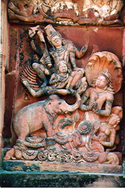 Vishnu y Garuda