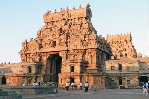 Gateway Monumental, Templo de Brihadishvara, Thanjavur