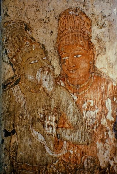 Rajaraja I Mural, Tanjavur
