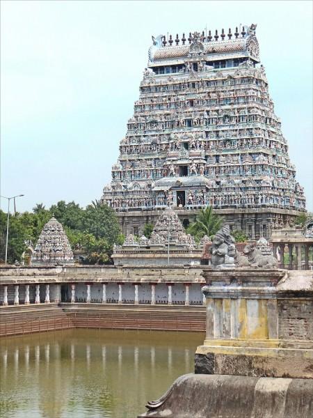 Gopura & Nataraja Temple, Chidambaram