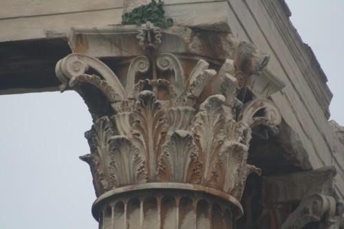 Capital Corintia, Templo de Zeus, Atenas