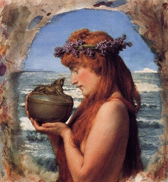 Pandora ancient history encyclopedia for Mito vaso di pandora