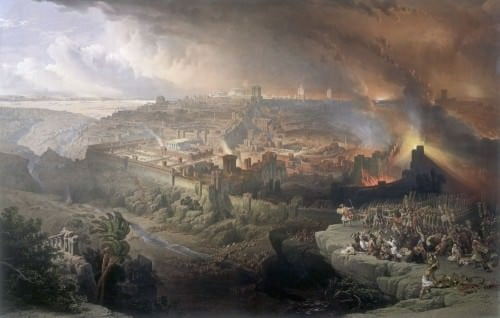 The Great Jewish Revolt of 66 CE