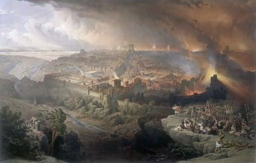 El asedio y la destrucción de Jerusalén