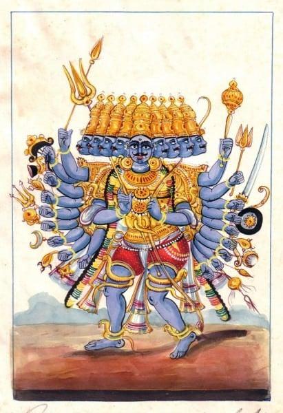 Ravana el Rey Demonio