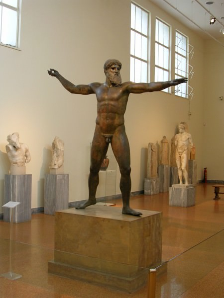 Poseidon From Cape Artemesium