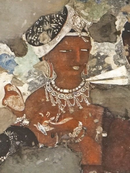 Ajanta ancient history encyclopedia for Ajanta mural painting
