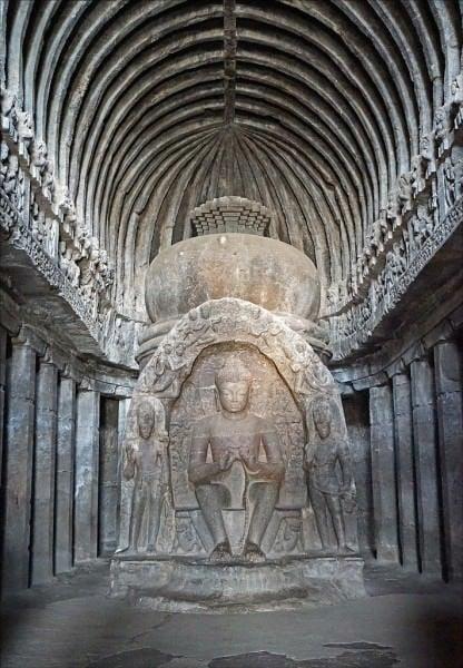Templo de la cueva Visvakarma, Ellora
