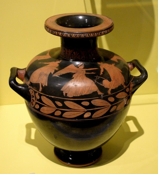 Hydria with Eos & Tithonus Scene