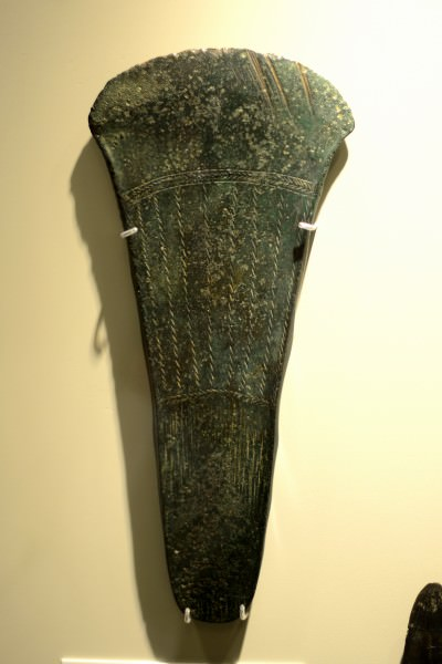 Decorated flat Axehead from ancient Ireland