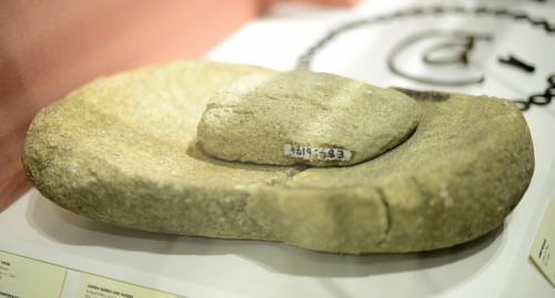 Quern & Rubber from Ancient Ireland