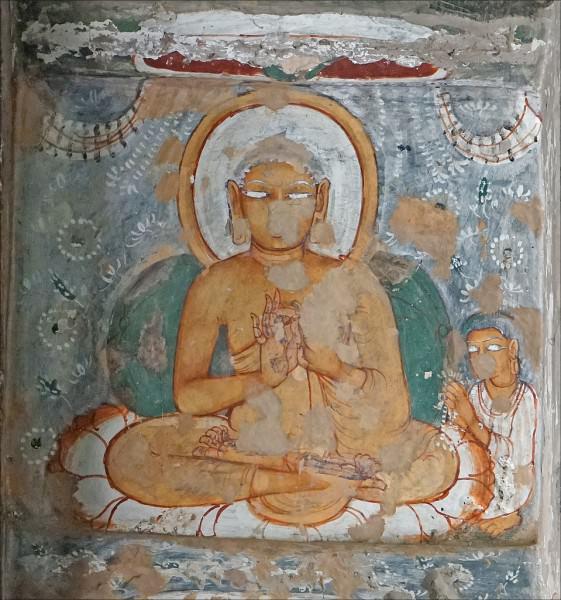 Buda, cueva de Ajanta No. 10