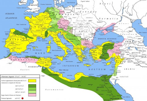 The Extent of the Roman Empire Article  Ancient History
