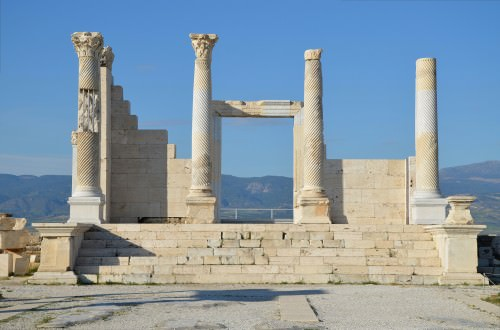 Roman Temple at Laodicea on the Lycus, Turkey