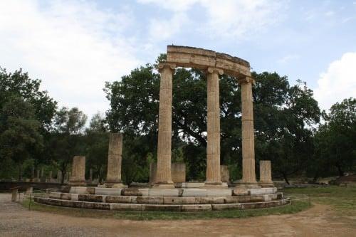 O Philippeion de Olympia