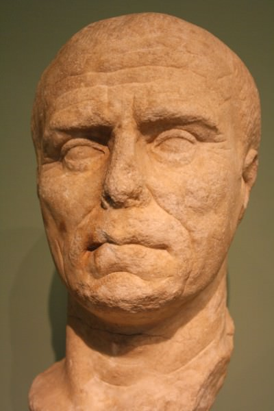 Portrait of an Aged Roman