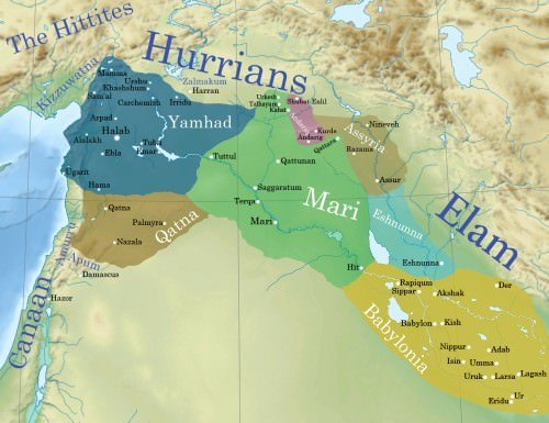 Ancient Syro-Mesopotamia ca. 1764 a.