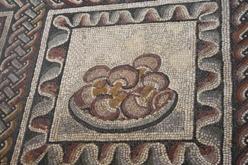Mushrooms, Roman Mosaic