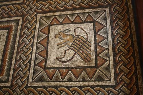 Rabbit, Roman Mosaic