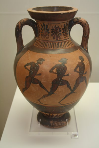 Greek Foot Race