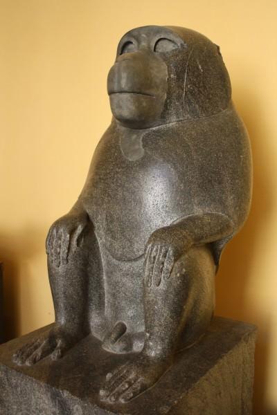 Estatua del mono, Egipto