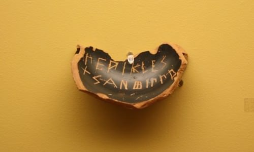 Ostracon para Péricles
