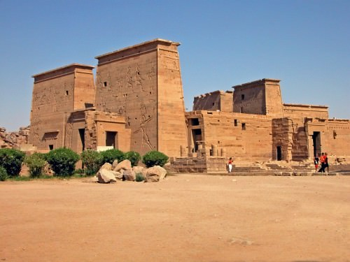 Temple to Isis at Philae, Aswan