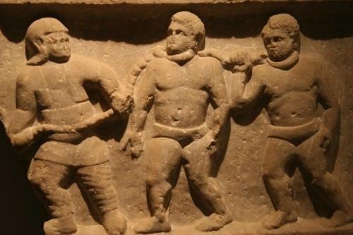 Esclavos romanos