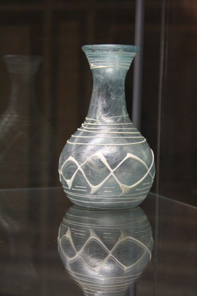 Roman Glass Bottle