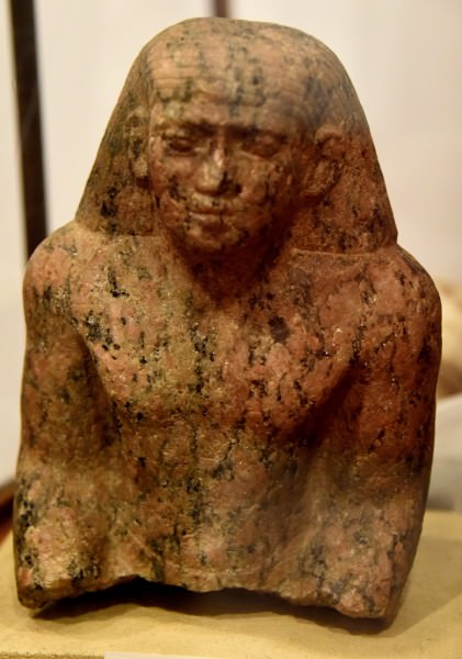 A Statuette from Old kingdom of Egypt