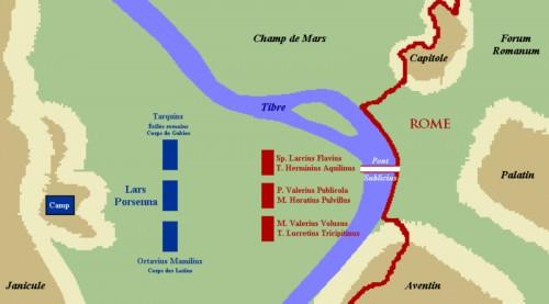 Asedio de Roma por Porsenna