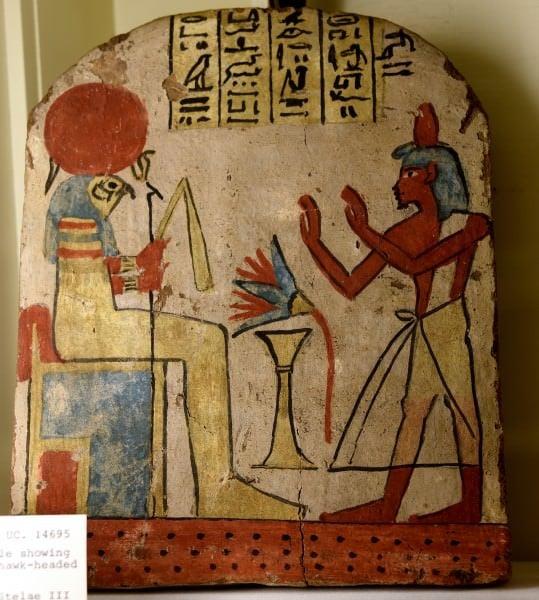Stela of Ihefy & Horus