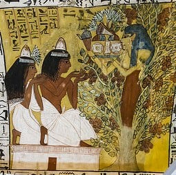 Sennedjem, Iyneferti y La Dama del Sicómoro