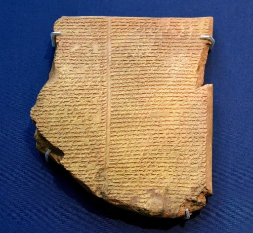 Flood Tablet da Epopéia de Gilgamesh