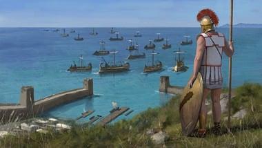 Navios de guerra gregos