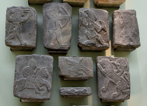 Basalt Relief Sculptures from Tell Halaf