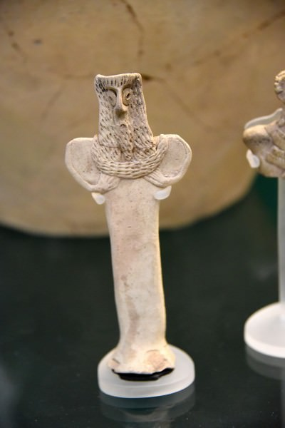 Bearded Male Figurine from Tabqa-Euphrates Area