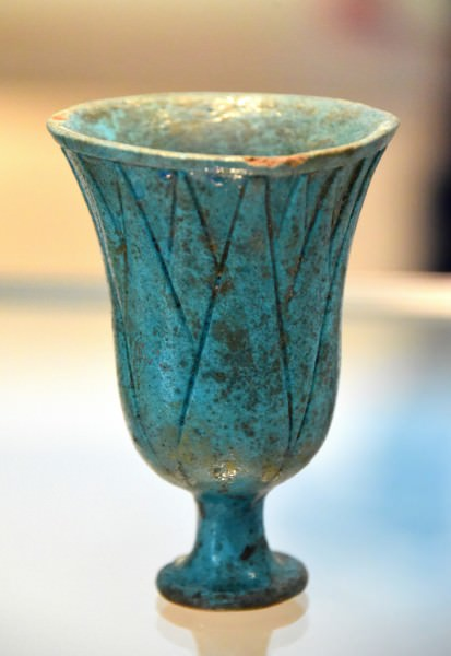 Faience Drinking Cup from the 18th Dynasty